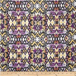 Chiffon Bohemian Multi/Purple/Yellow