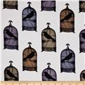 Michael Miller Nevermore Collection Jackdaws Urban Grit Multi
