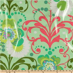 Amy Butler Love Laminated Paradise Garden Mint