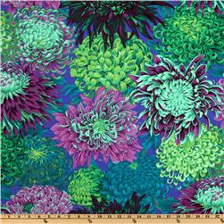 Kaffe Fassett Collective 2010 Japanese Chrysanthemum Green