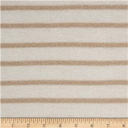 Sparkle Hatchi Knit Stripes White/Tan