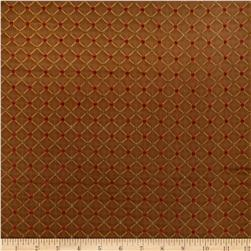 Jaclyn Smith Bassette Jacquard Chestnut