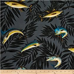 Hoffman Tropical Collection Fish Charcoal