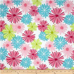 Riley Blake Floriography Large Floral Pink Fabric