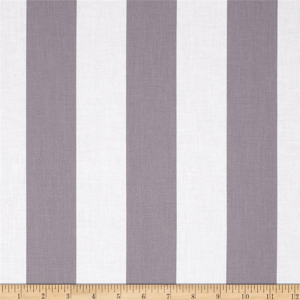 "Riley Blake 2"" Stripe Grey"
