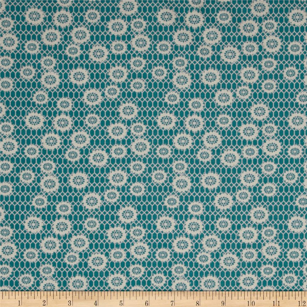 Denyse Schmidt Ansonia Honeycomb Lace Mossy