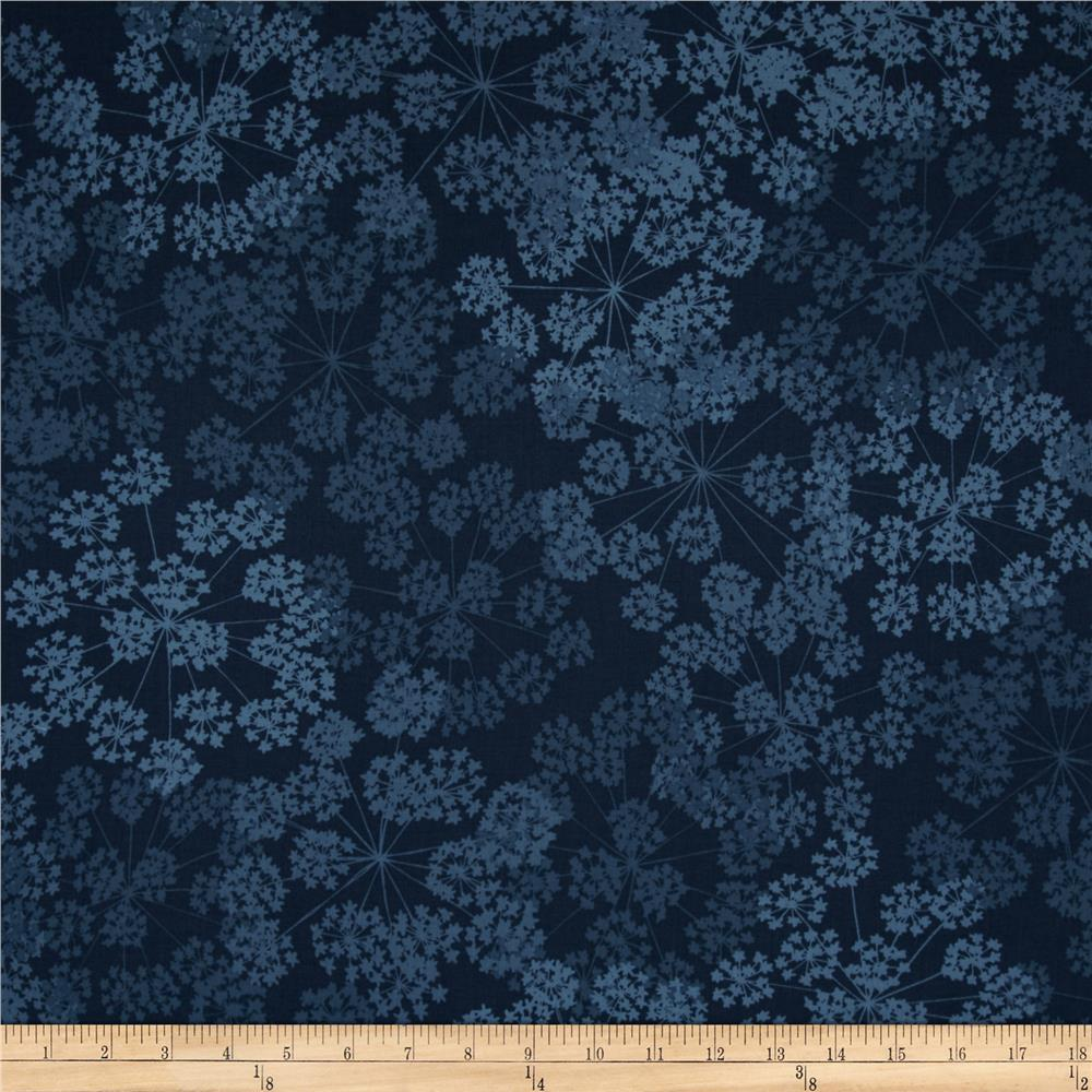 Valori Wells Blue Print Basics Floral Burst Blue