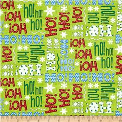 Moda Ho! Ho! Ho! Elf Green