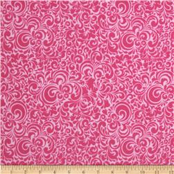 Riley Blake Summer Breeze Flannel Splash Pink