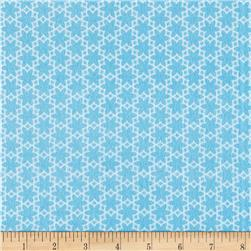 Riley Blake Wildflower Meadow Flannel Flower Blue