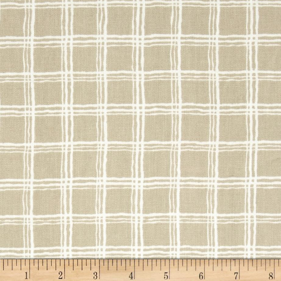 Nautica Silver Bay Plaid Linen