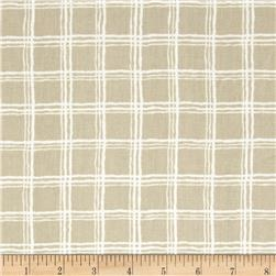Nautica Silver Bay Plaid Linen Fabric