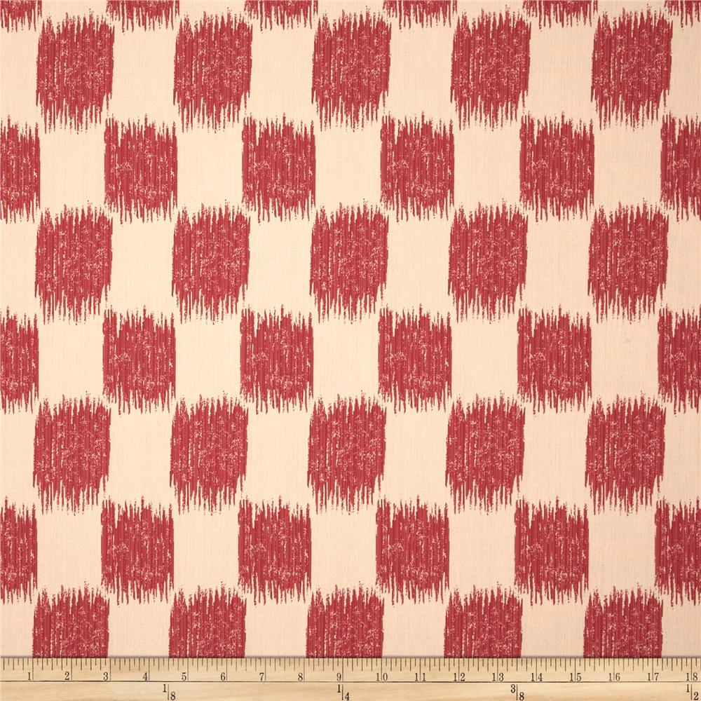 Jaclyn Smith Buford Jacquard Redbud