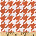 Riley Blake Medium Houndstooth Orange