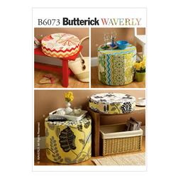Butterick Cushions and Ottomans Pattern B6073 Size OSZ