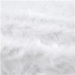 Faux Fur Monkey White