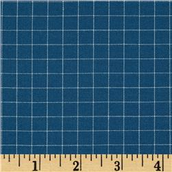 Kaufman Studio Stash Yarn Dye Large Check Slate