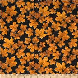 Benartex Northern Exposure Maple Leaves Rust