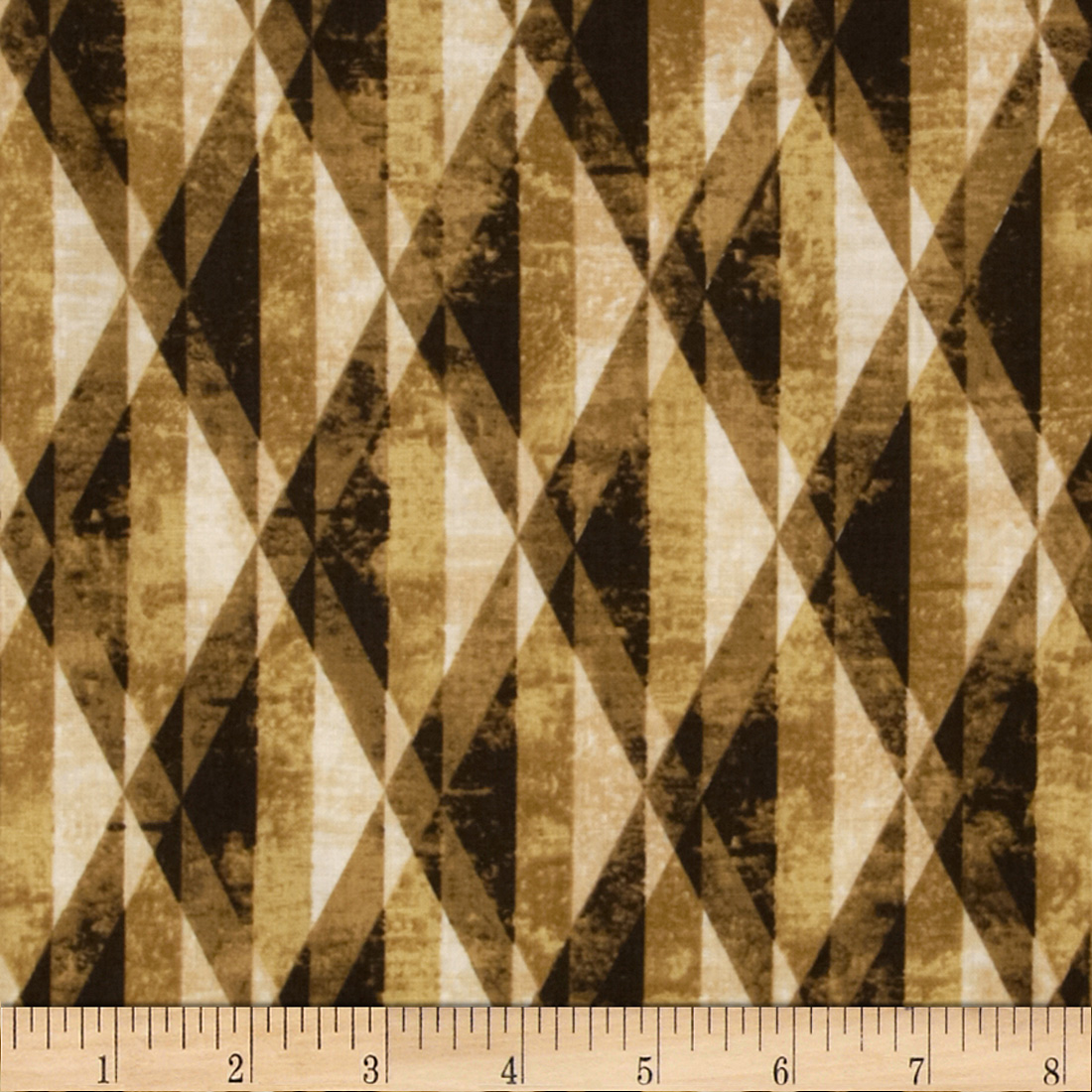 Michael Miller Diamond Prism Honey Fabric