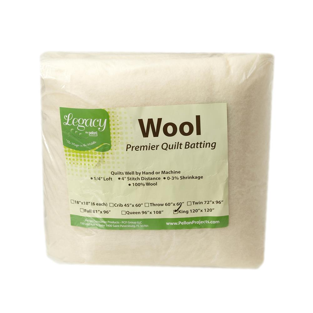 Pellon Wool Batting King 120