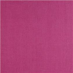 European 100% Washed Linen Orchid