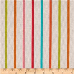 Michael Miller Textured Basics Stripe Multi Fabric