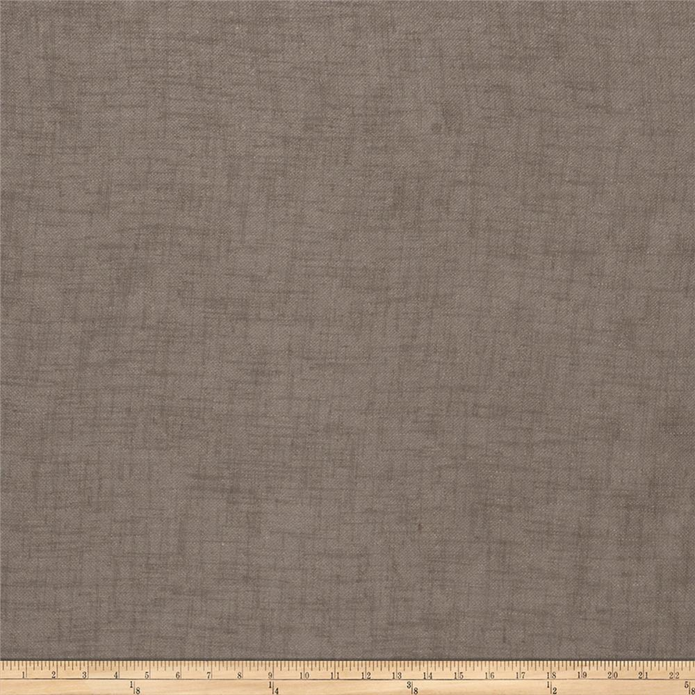 "Fabricut Winifred 118"" Sheer Voile Sable"