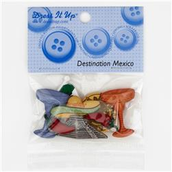 Dress It Up Embellishment Buttons  Mexico
