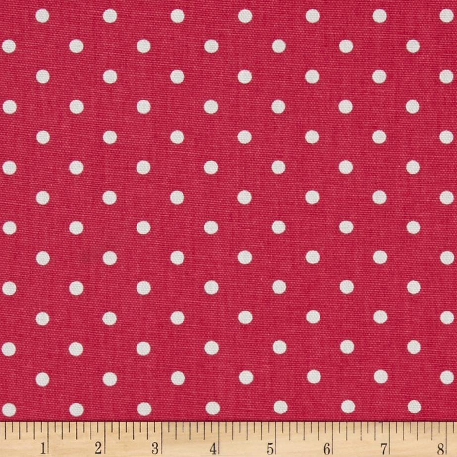 Premier Prints Mini Dot Candy Pink/White