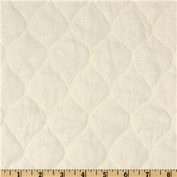 Quilted Muslin Natural