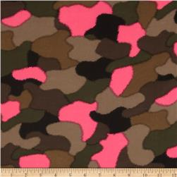Chiffon Camo Hot Pink/Green/Black