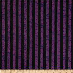 Wicked Stripe Purple Fabric