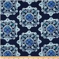 Ty Pennington Home Decor Sateen Fall 11 Delhi Blue