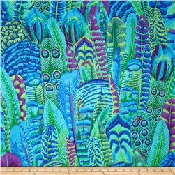 Kaffe Fassett Feathers Green