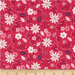 Paradise Tossed Floral Pink