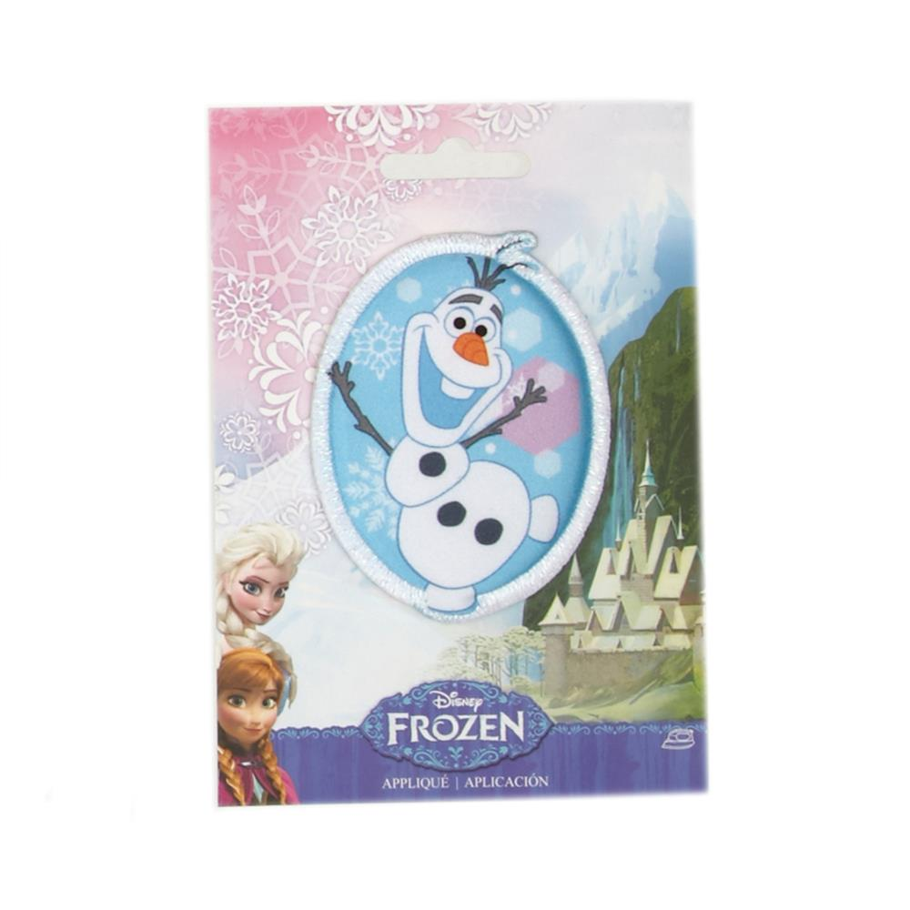 Disney Frozen Iron On Applique Olaf & Kristoff