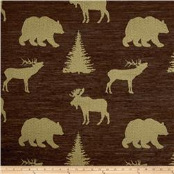 Regal Denali Chenille Jacquard Chocolate
