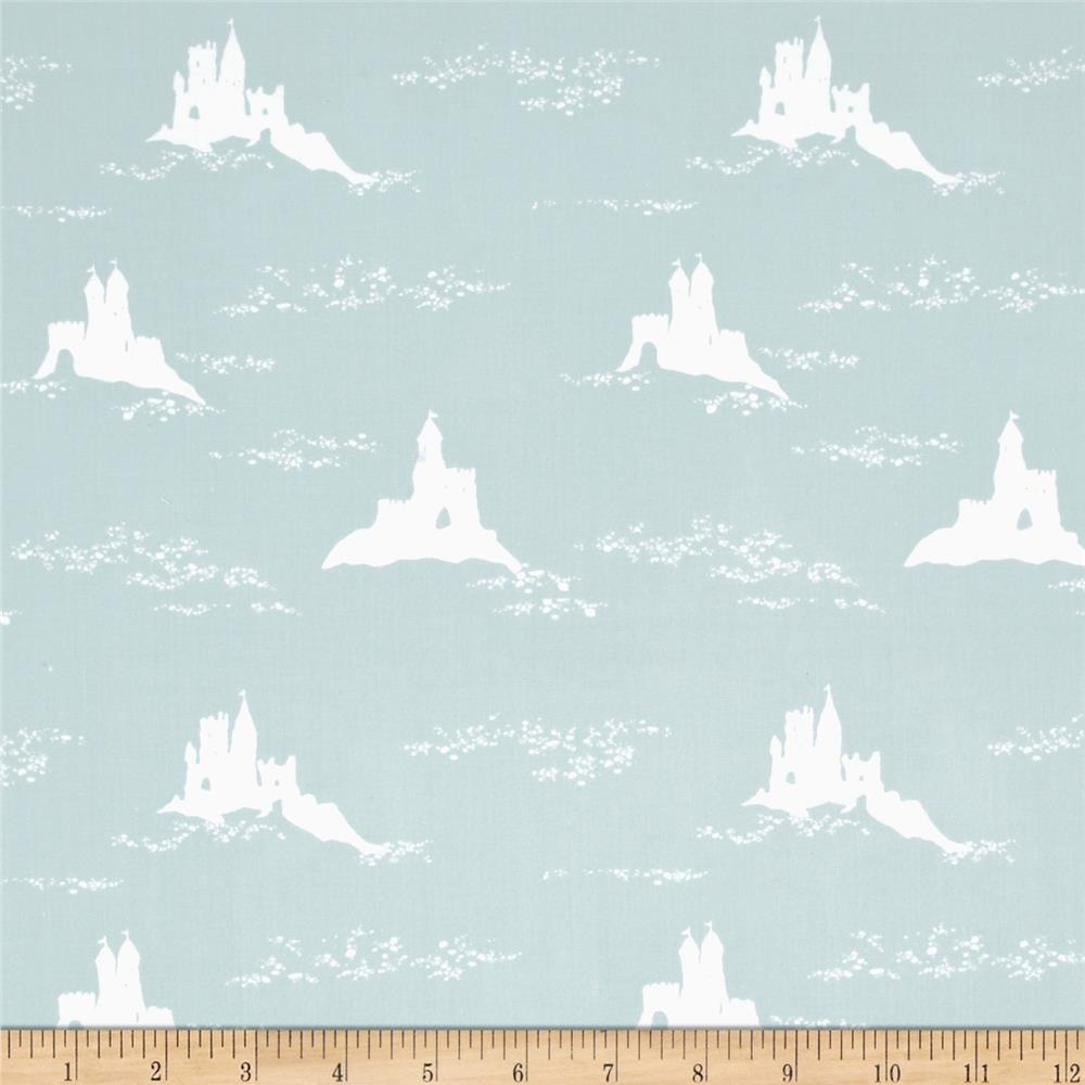 Low Tide Sand Castles Grey