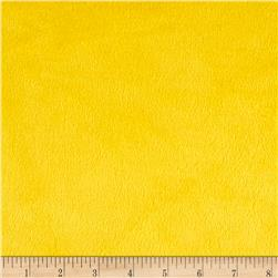 Michael Miller Minky Solid Bright Yellow