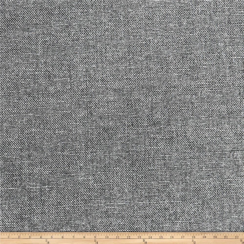 Jaclyn Smith 02133 Linen Cotton Shimmer Charcoal