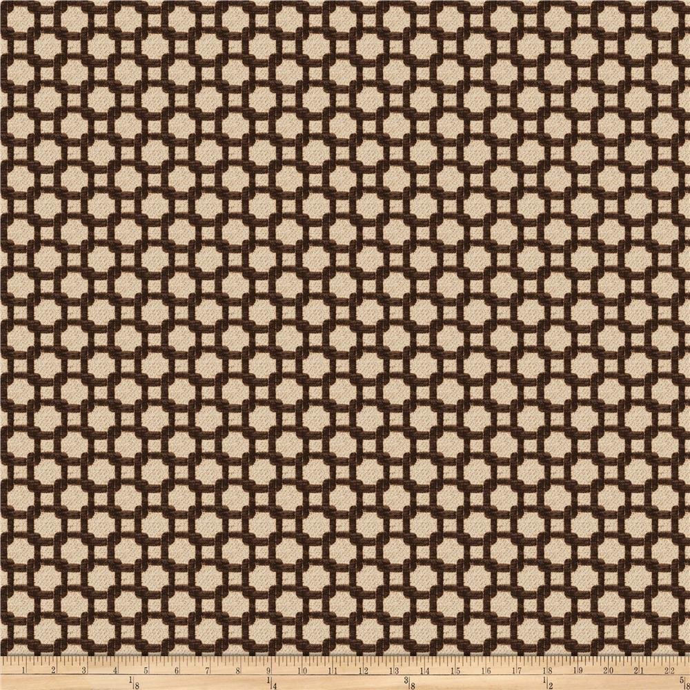 Fabricut Philotes Chenille Chocolate