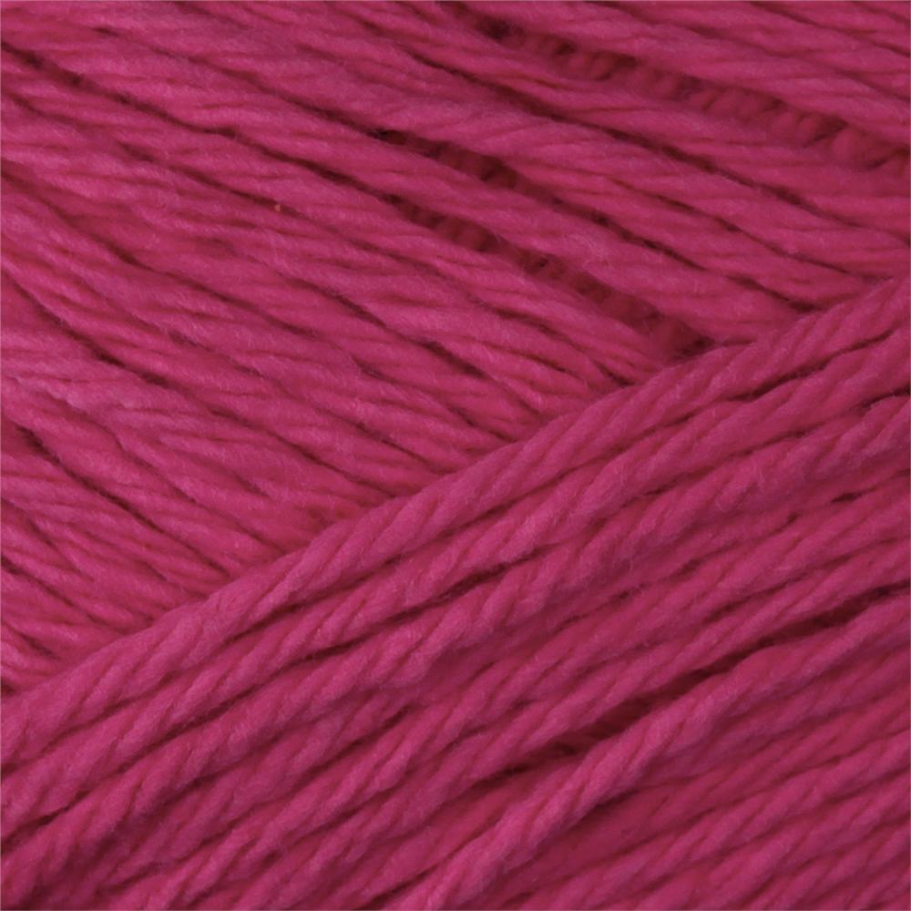 Peaches & Creme Solid Yarn (01740) Bright Pink