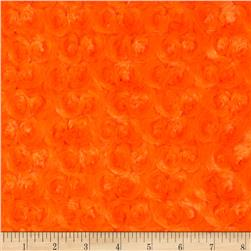Minky Rose Cuddle Orange