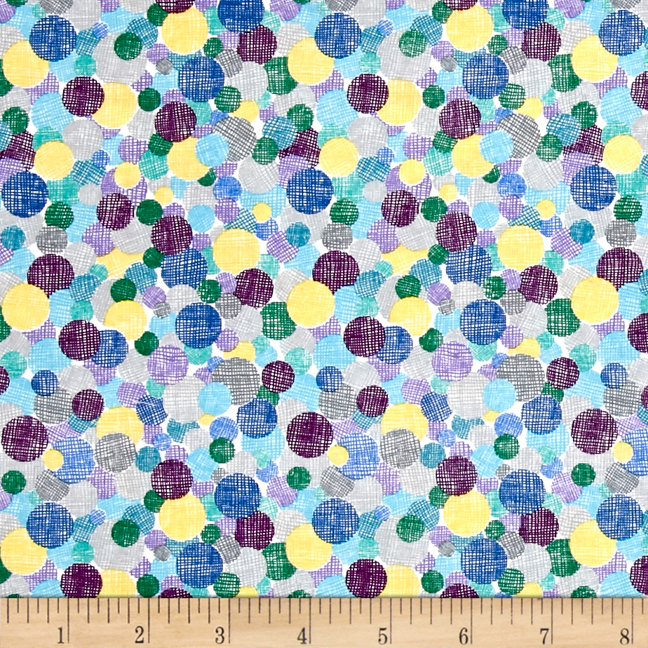 Marcus Dandy Days Very Berry Salad Teal Fabric by Marcus in USA