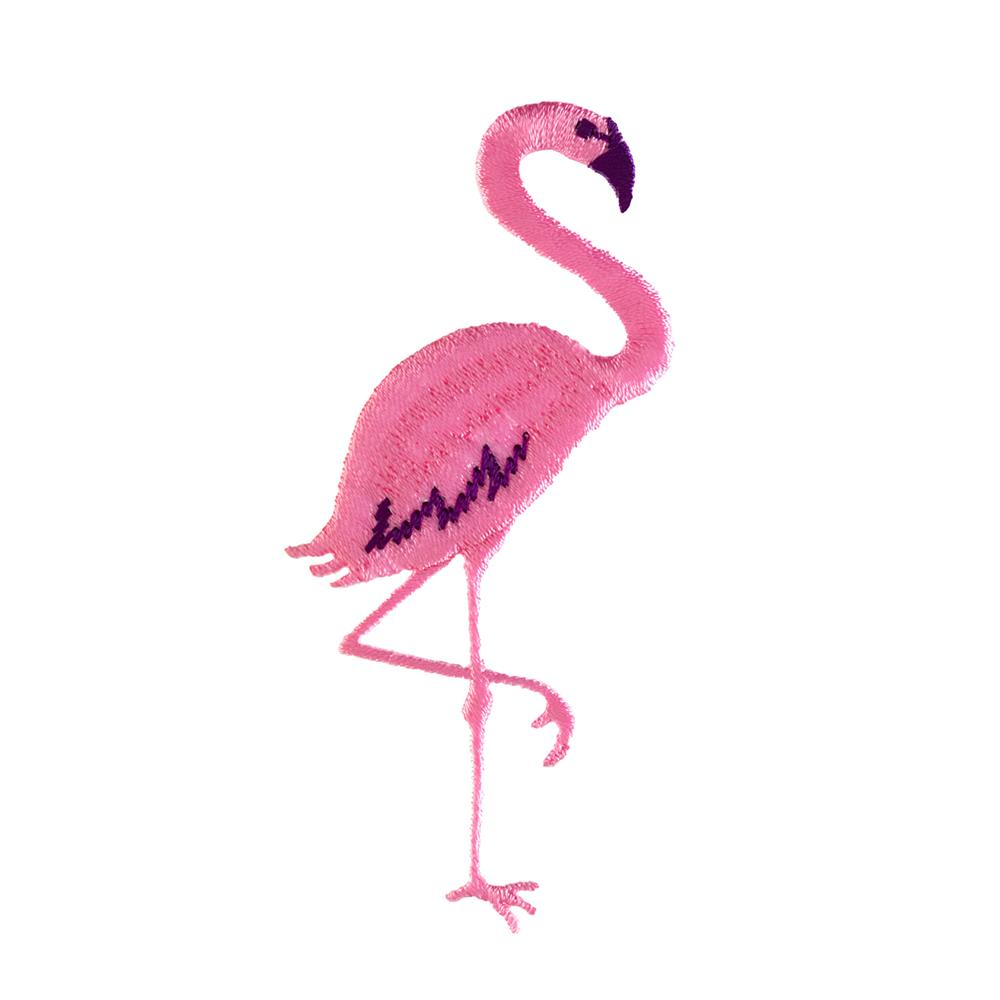 Flamingo Applique Discount Designer Fabric Fabric Com