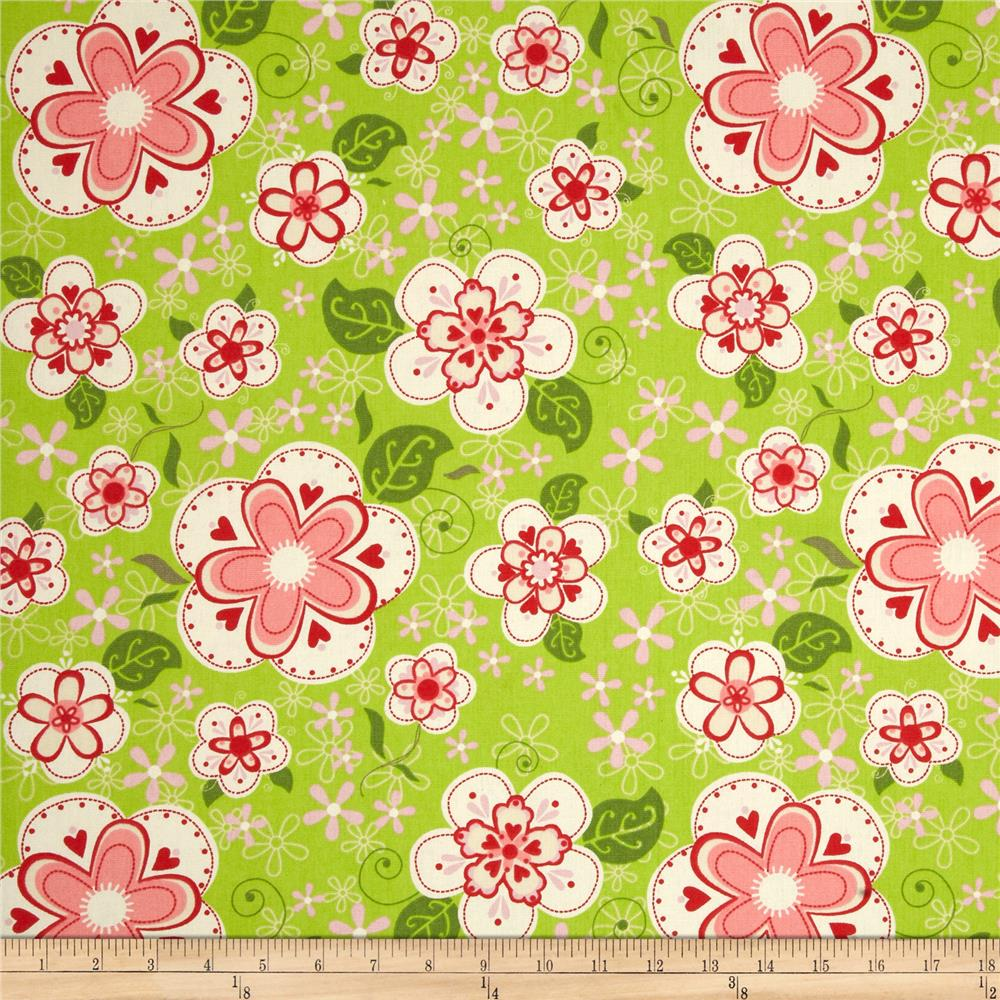 Riley Blake Home Decor Sugar and Spice Green