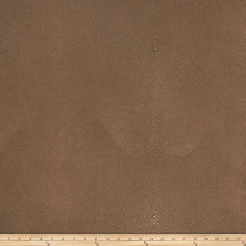 Fabricut Canberra Faux Leather Tobacco
