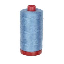 Aurifil 12wt Embellishment and Sashiko Dreams Thread Light Delft Blue