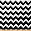 Small Chevron Black