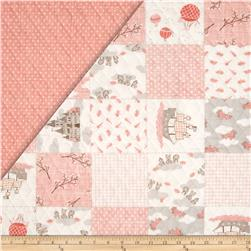Moda Storybook Double Sided Quilted Peach